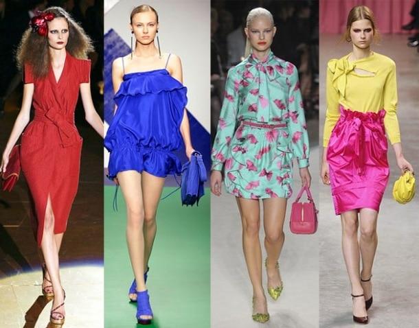 10 τρόποι να φορέσετε φωτεινά χρώματα
