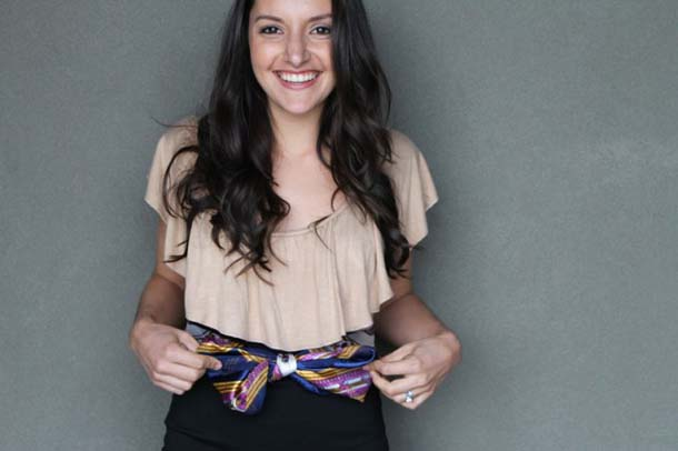 15 τρόποι να φορέσεις ένα φουλάρι - μαντήλι (4)