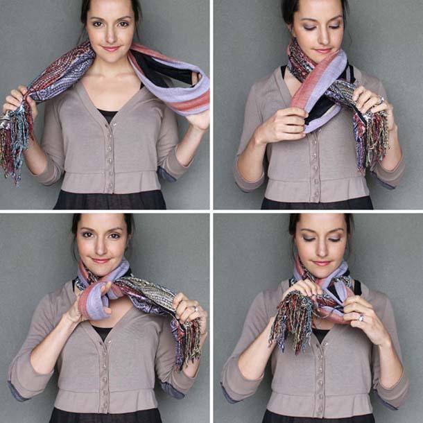 15 τρόποι να φορέσεις ένα φουλάρι - μαντήλι (7)