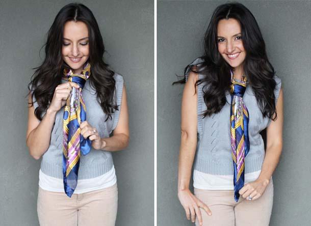 15 τρόποι να φορέσεις ένα φουλάρι - μαντήλι (19)