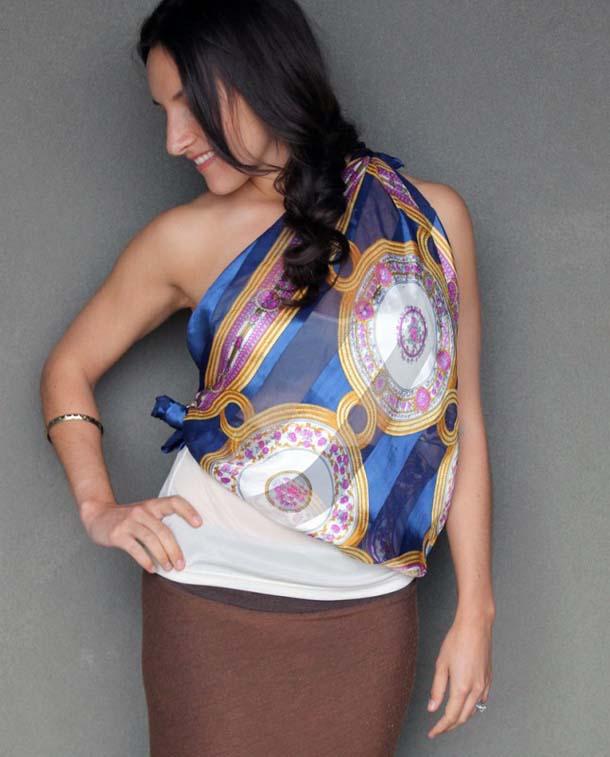 15 τρόποι να φορέσεις ένα φουλάρι - μαντήλι (20)