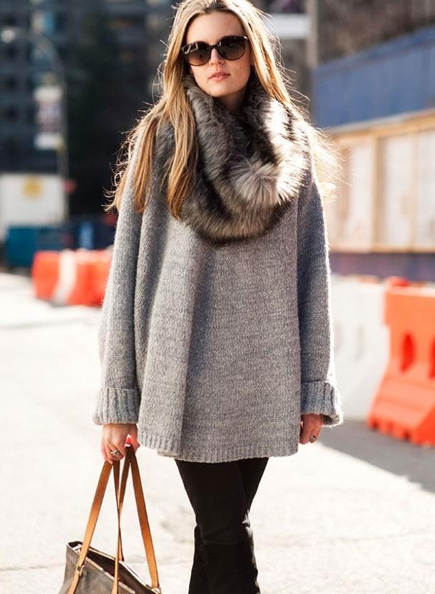 8 στυλιστικά tips για να φορέσετε φαρδιά ρούχα (5)