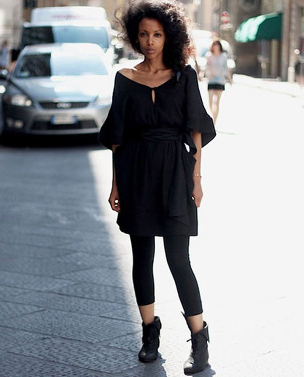 8 στυλιστικά tips για να φορέσετε φαρδιά ρούχα (6)