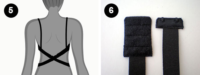 Φτιάξτε έναν μετατροπέα σουτιέν για εξώπλατα φορέματα και μπλούζες 36f19698f01