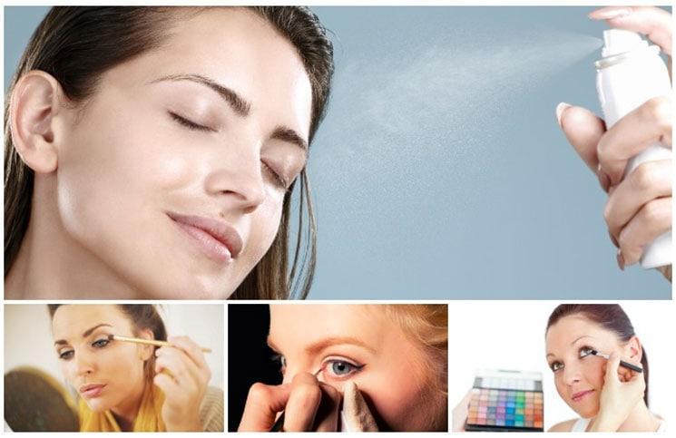 Αποτελεσματικοί τρόποι να χρησιμοποιείτε το νερό στο μακιγιάζ