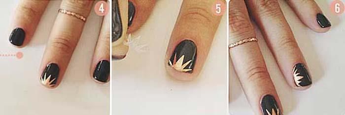 Πώς να κάνετε μόνες σας υπέροχα σχέδια στα νύχια (5)
