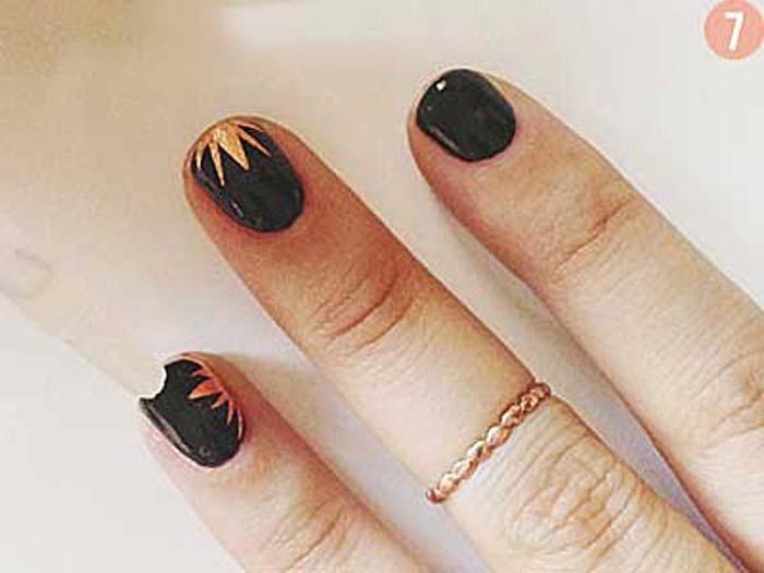 Πώς να κάνετε μόνες σας υπέροχα σχέδια στα νύχια (6)