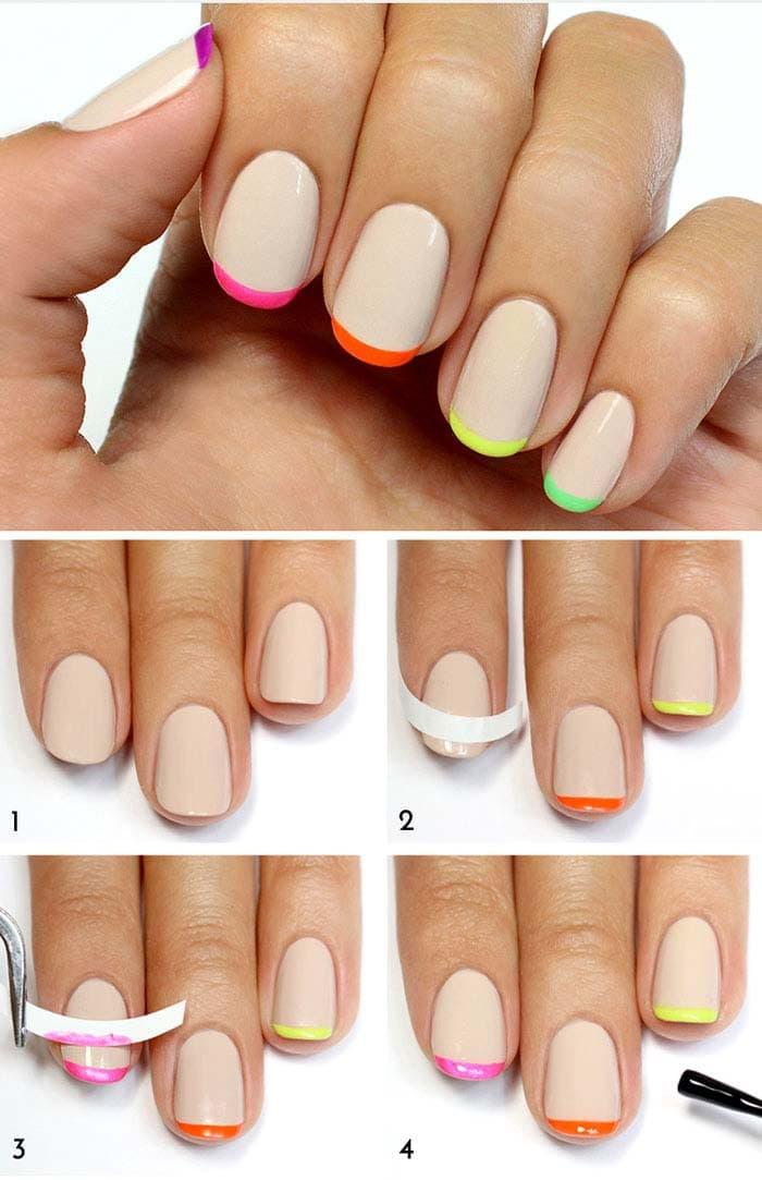 Πώς να κάνετε μόνες σας υπέροχα σχέδια στα νύχια (10)
