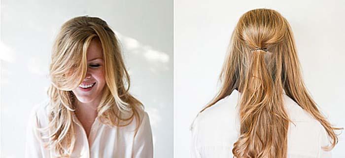 Υπέροχα χτενίσματα για μακριά μαλλιά που μπορείτε να κάνετε μόνη σας! (3)