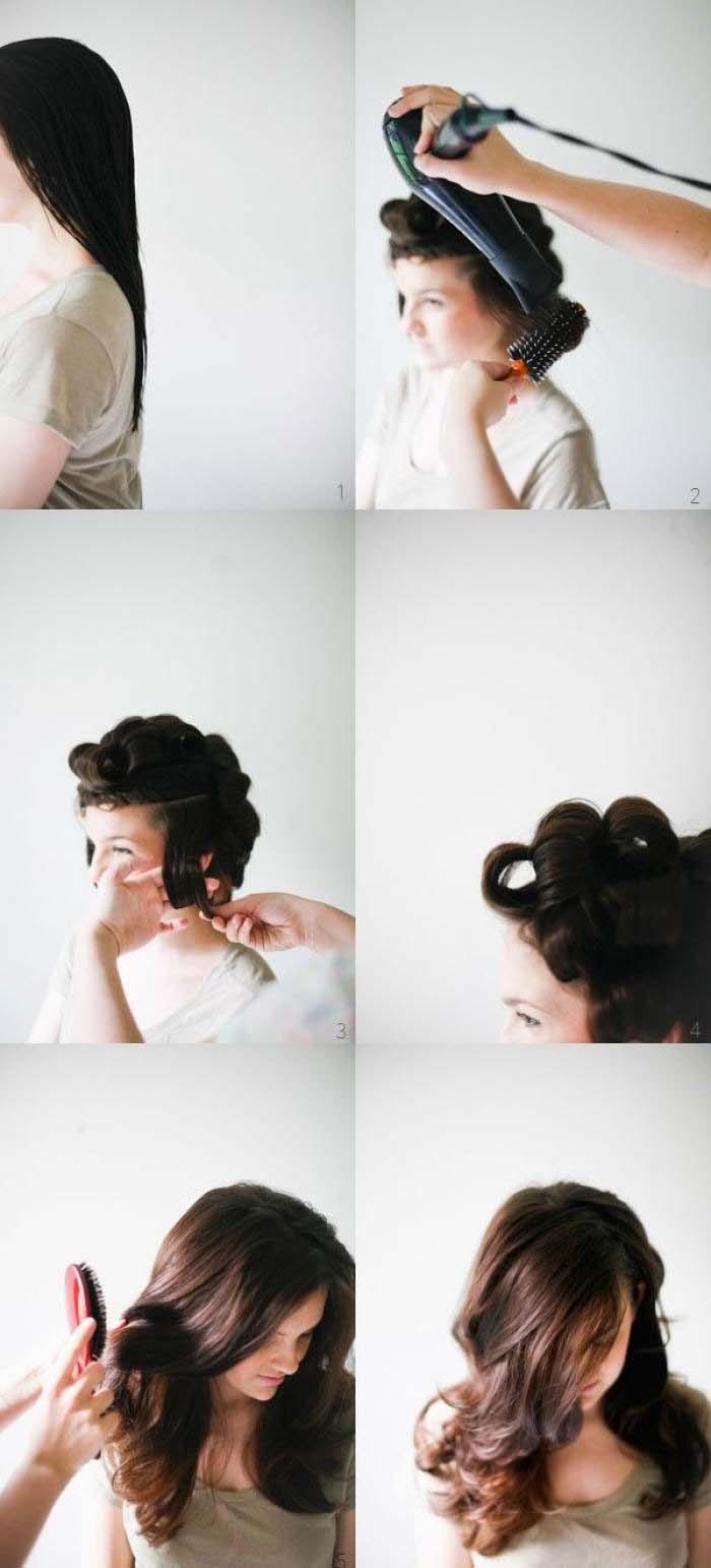 Υπέροχα χτενίσματα για μακριά μαλλιά που μπορείτε να κάνετε μόνη σας! (8)