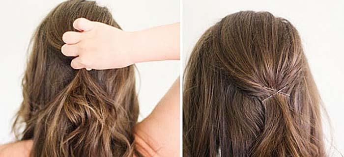 Υπέροχα χτενίσματα για μακριά μαλλιά που μπορείτε να κάνετε μόνη σας! (9)