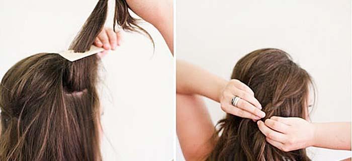 Υπέροχα χτενίσματα για μακριά μαλλιά που μπορείτε να κάνετε μόνη σας! (10)