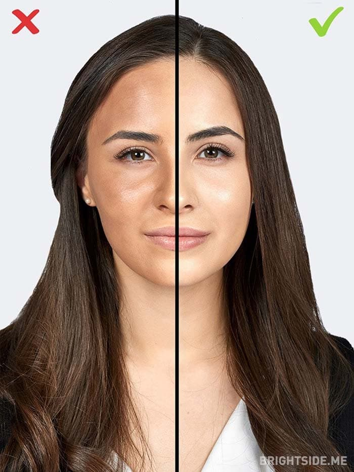 10 συνηθισμένα λάθη στο μακιγιάζ που σας κάνουν να δείχνετε μεγαλύτερη (2)
