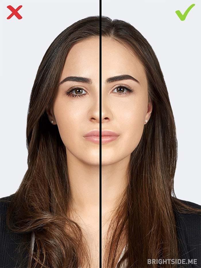 10 συνηθισμένα λάθη στο μακιγιάζ που σας κάνουν να δείχνετε μεγαλύτερη (3)