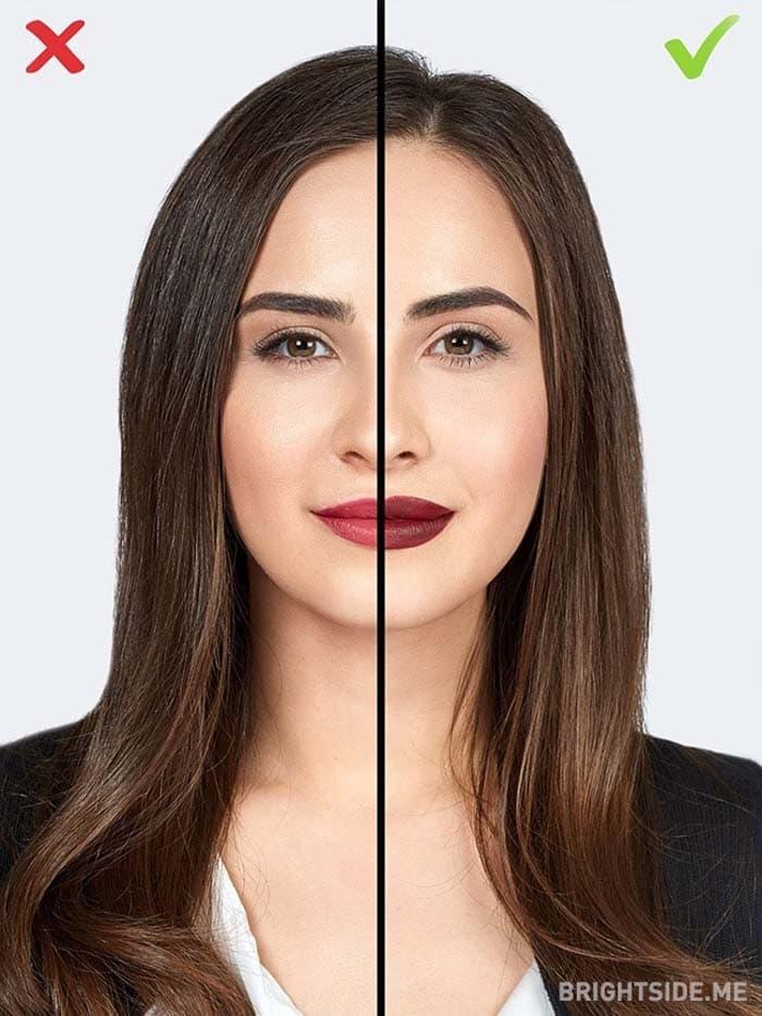 10 συνηθισμένα λάθη στο μακιγιάζ που σας κάνουν να δείχνετε μεγαλύτερη (4)