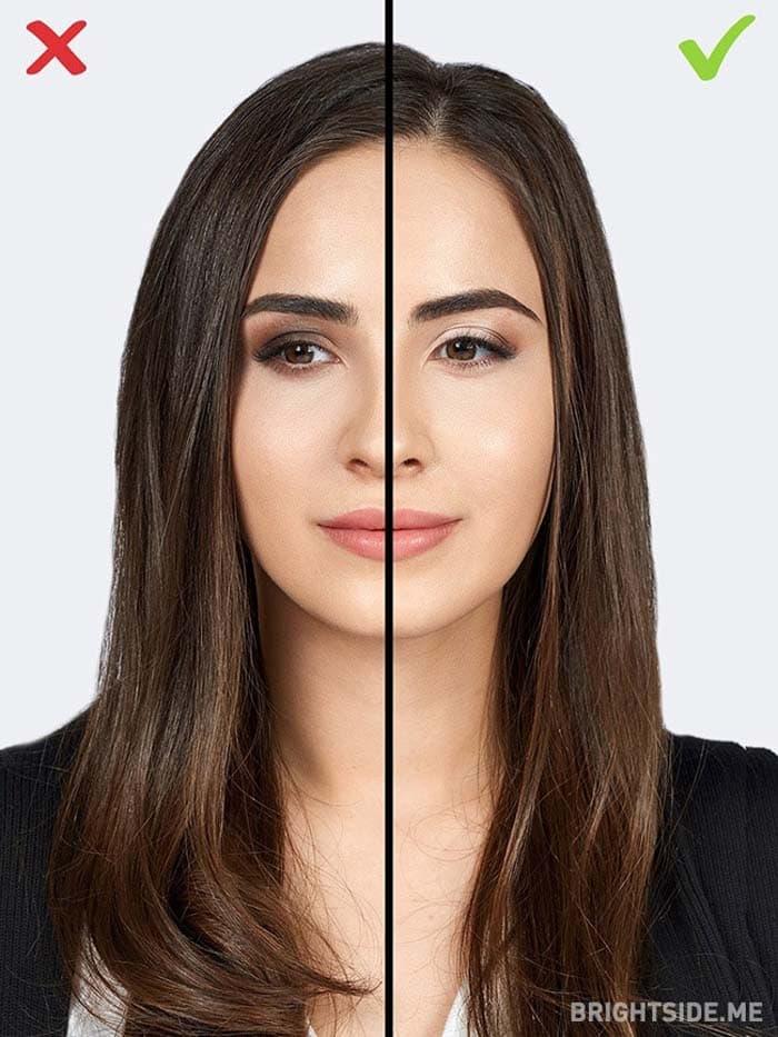 10 συνηθισμένα λάθη στο μακιγιάζ που σας κάνουν να δείχνετε μεγαλύτερη (5)