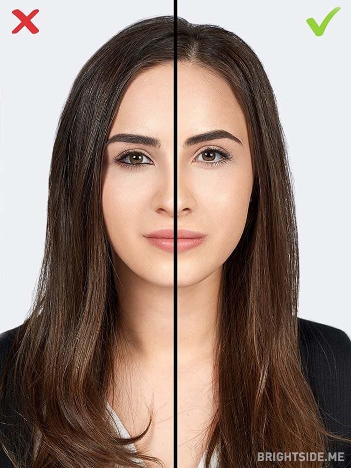 10 συνηθισμένα λάθη στο μακιγιάζ που σας κάνουν να δείχνετε μεγαλύτερη (6)