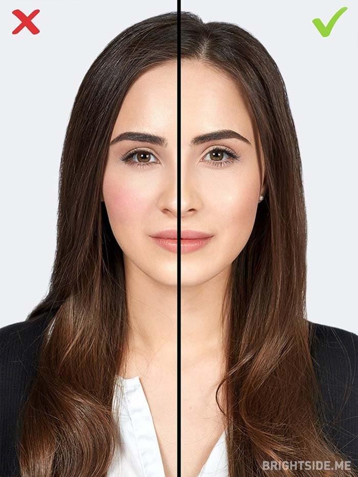 10 συνηθισμένα λάθη στο μακιγιάζ που σας κάνουν να δείχνετε μεγαλύτερη (7)