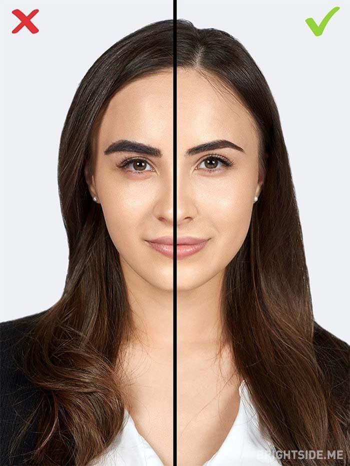 10 συνηθισμένα λάθη στο μακιγιάζ που σας κάνουν να δείχνετε μεγαλύτερη (8)