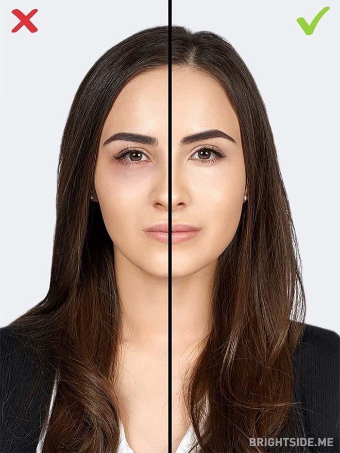 10 συνηθισμένα λάθη στο μακιγιάζ που σας κάνουν να δείχνετε μεγαλύτερη (9)