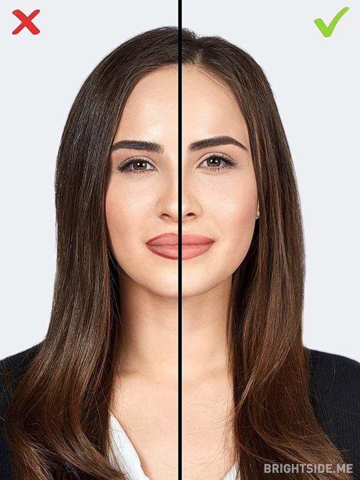 10 συνηθισμένα λάθη στο μακιγιάζ που σας κάνουν να δείχνετε μεγαλύτερη (10)