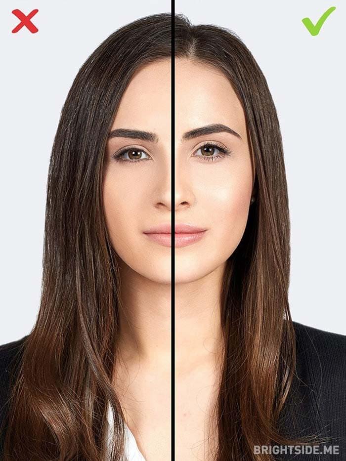 10 συνηθισμένα λάθη στο μακιγιάζ που σας κάνουν να δείχνετε μεγαλύτερη (11)