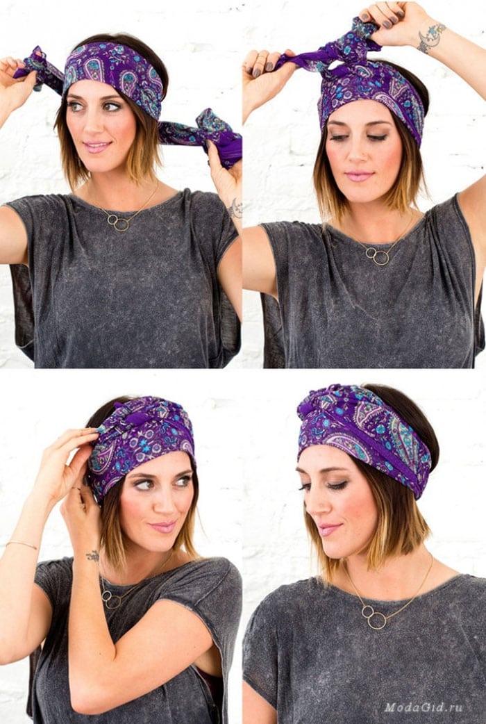 Εκπληκτικοί τρόποι για να δέσετε ένα μαντήλι στα μαλλιά (7)