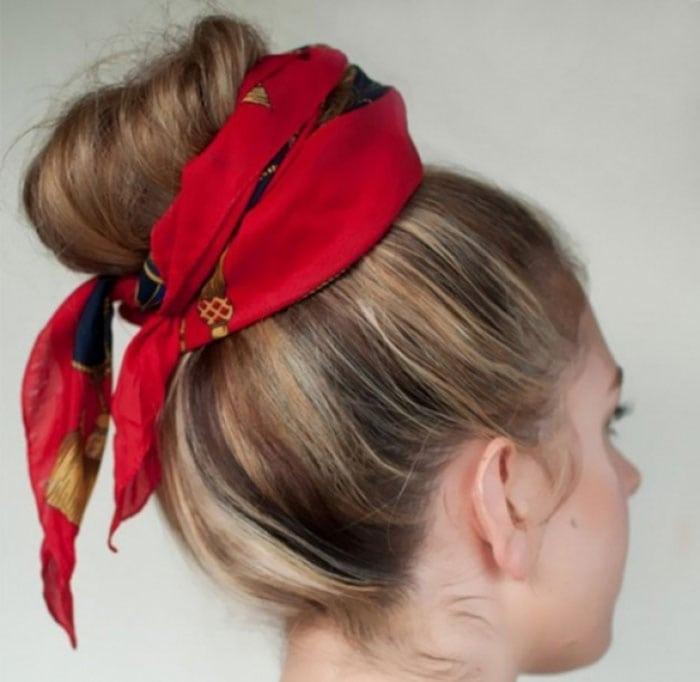 Εκπληκτικοί τρόποι για να δέσετε ένα μαντήλι στα μαλλιά (15)
