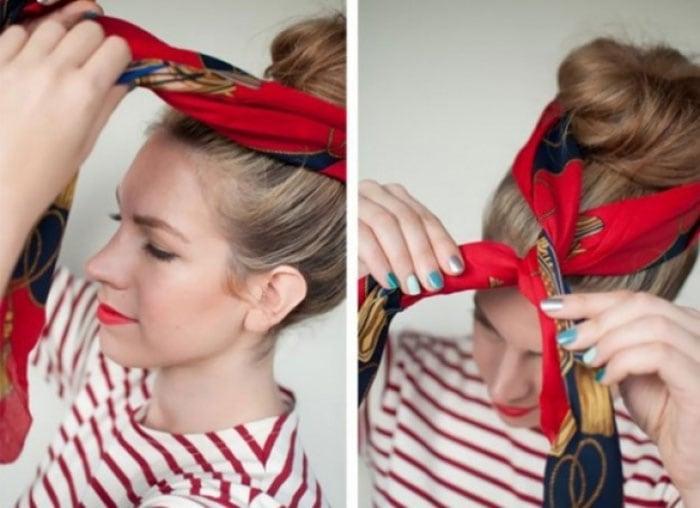 Εκπληκτικοί τρόποι για να δέσετε ένα μαντήλι στα μαλλιά (16)