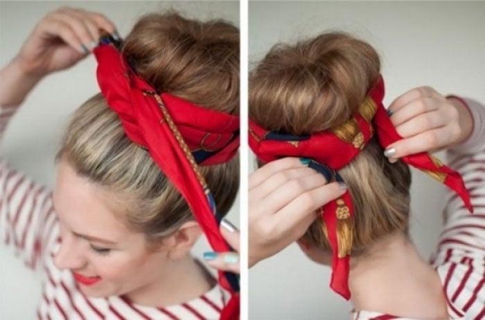 Εκπληκτικοί τρόποι για να δέσετε ένα μαντήλι στα μαλλιά (17)
