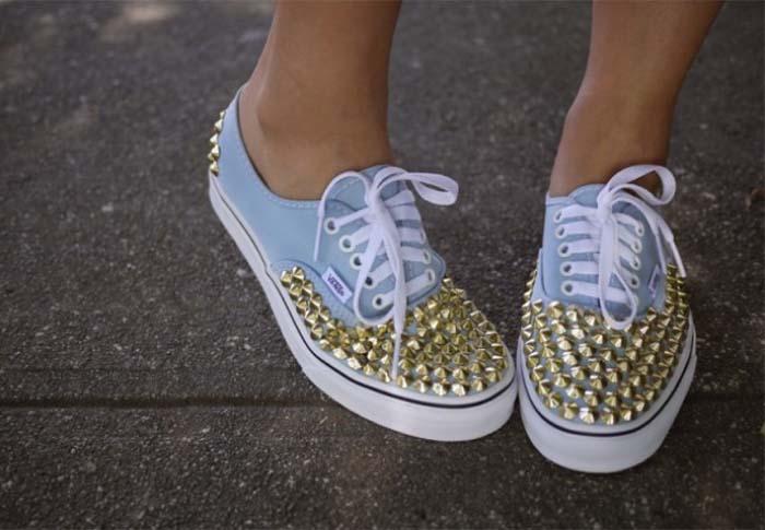Τρόποι για να μεταμορφώσετε τα βαρετά σας παπούτσια (7)