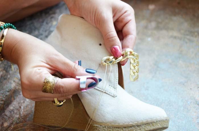 Τρόποι για να μεταμορφώσετε τα βαρετά σας παπούτσια (10)