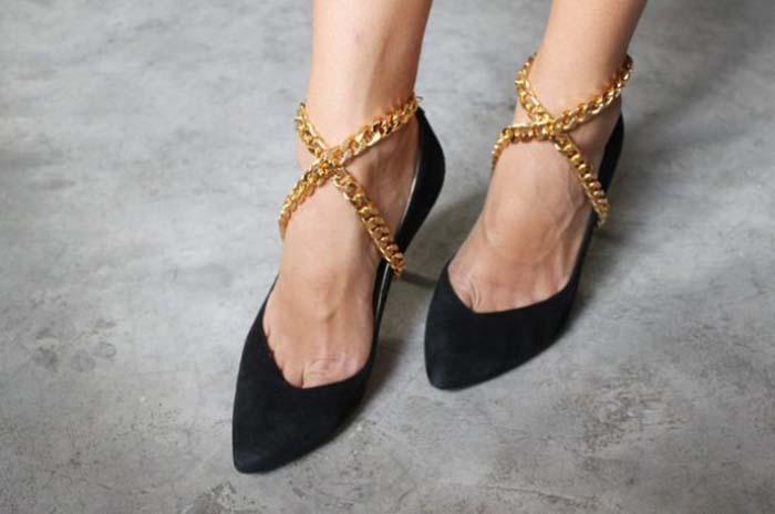 Τρόποι για να μεταμορφώσετε τα βαρετά σας παπούτσια (13)