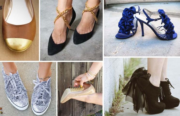 12 τρόποι για να μεταμορφώσετε τα βαρετά σας παπούτσια