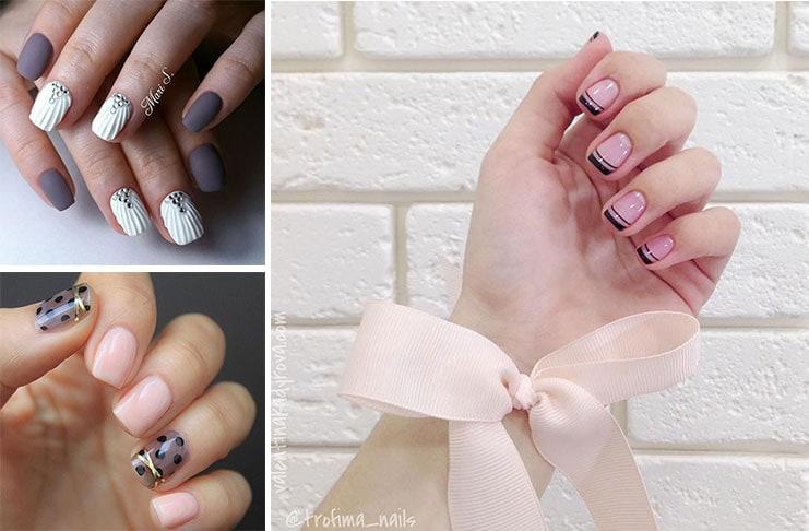 20 υπέροχες ιδέες μανικιούρ για κοντά νύχια (1)