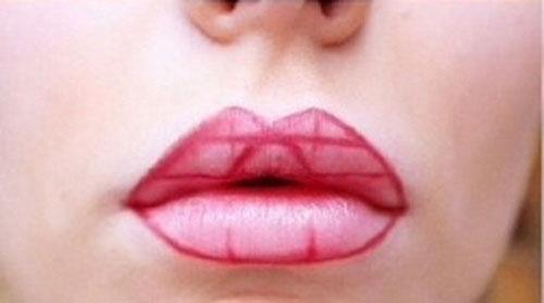 Απλό τρικ για τέλειο σχήμα κραγιόν στα χείλη (6)