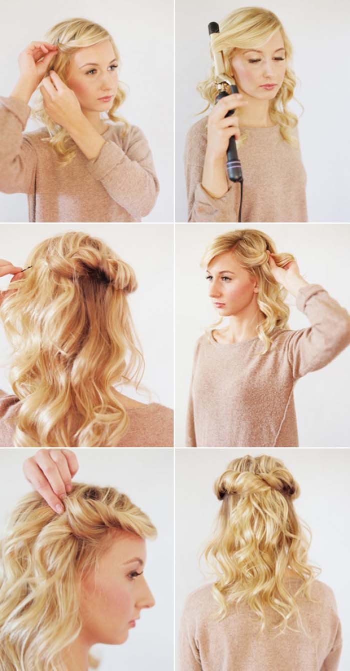 Εκπληκτικά χτενίσματα για μαλλιά μεσαίου μήκους (15)