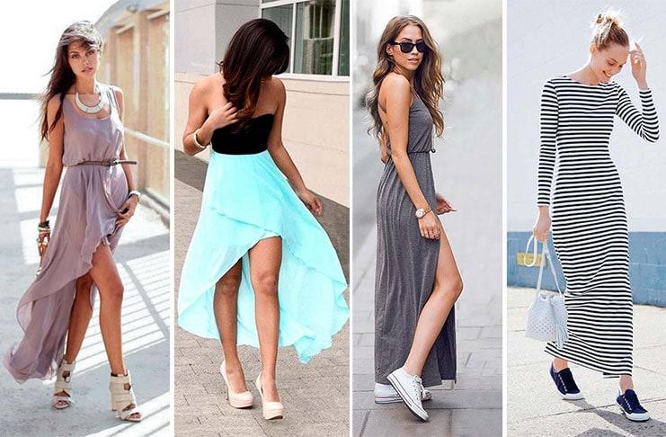 Στυλιστικά μυστικά για να φορέσετε ένα μακρύ φόρεμα (1)