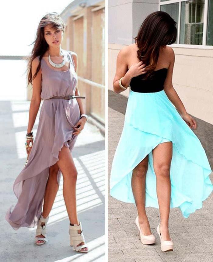 Στυλιστικά μυστικά για να φορέσετε ένα μακρύ φόρεμα (8)
