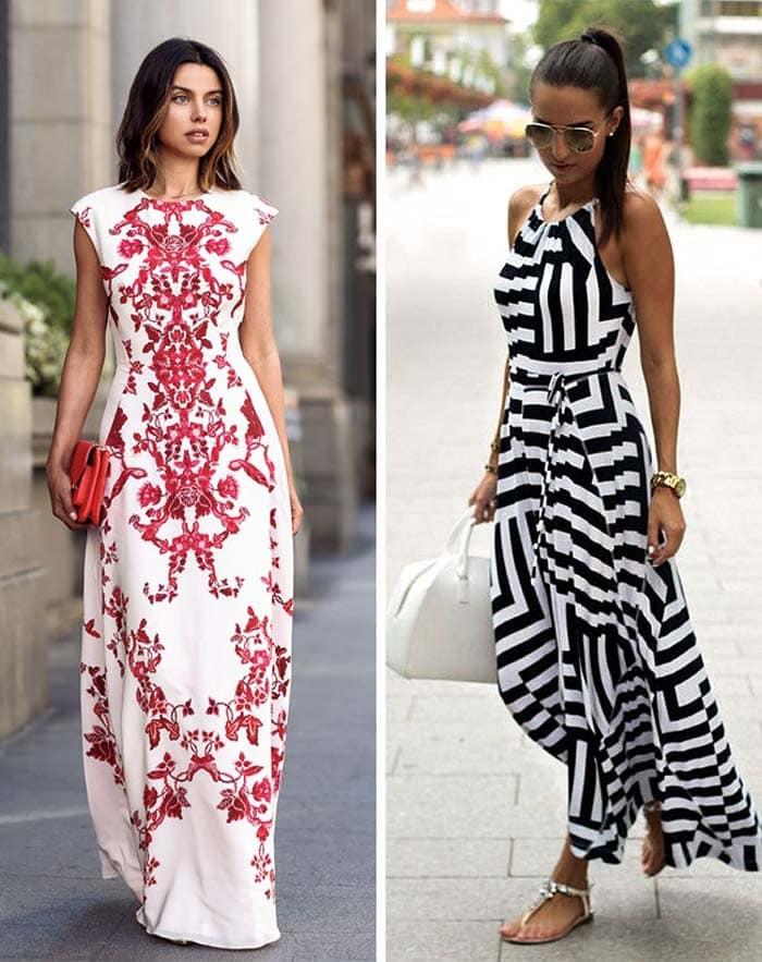Στυλιστικά μυστικά για να φορέσετε ένα μακρύ φόρεμα (9)