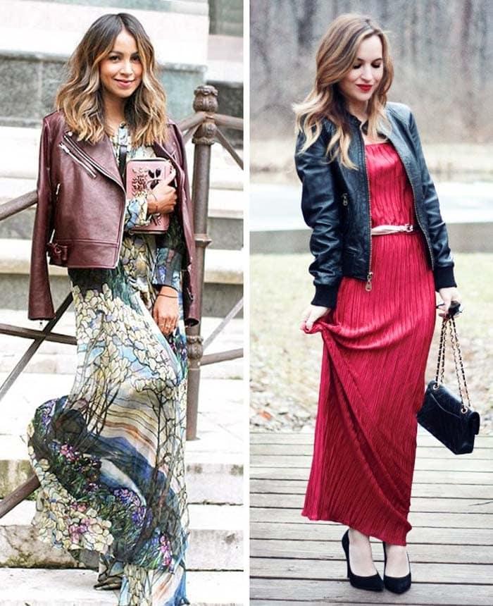 Στυλιστικά μυστικά για να φορέσετε ένα μακρύ φόρεμα (6)