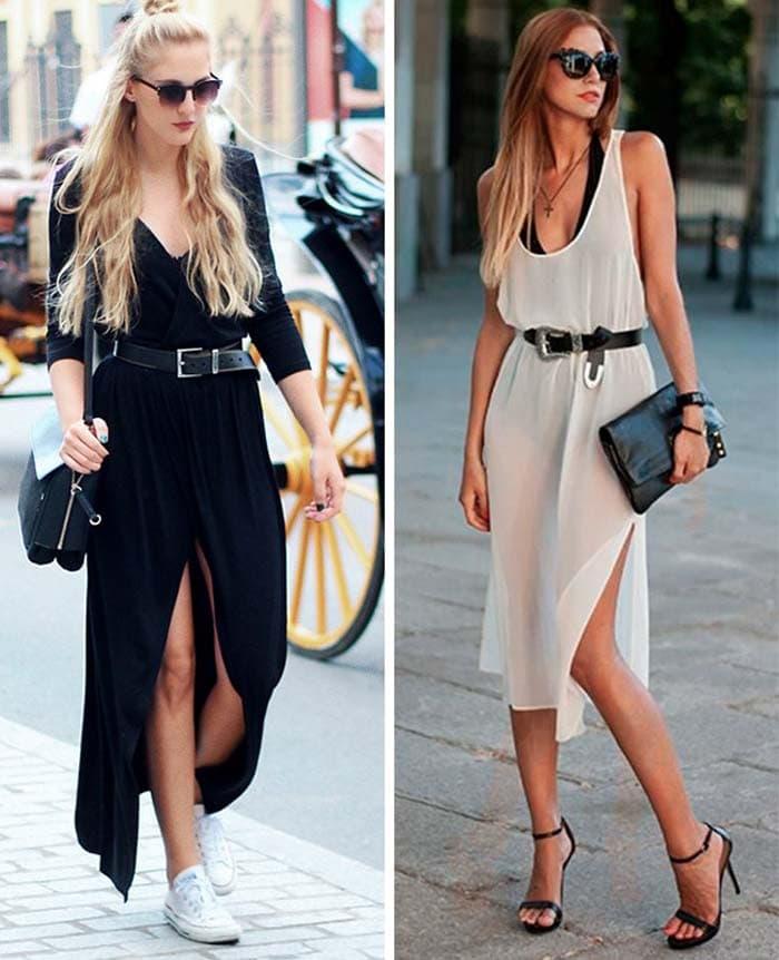 Στυλιστικά μυστικά για να φορέσετε ένα μακρύ φόρεμα (4)