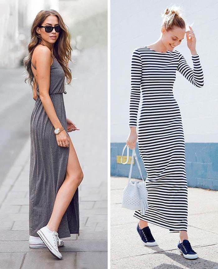 Στυλιστικά μυστικά για να φορέσετε ένα μακρύ φόρεμα (2)