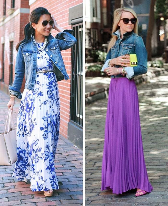Στυλιστικά μυστικά για να φορέσετε ένα μακρύ φόρεμα (3)
