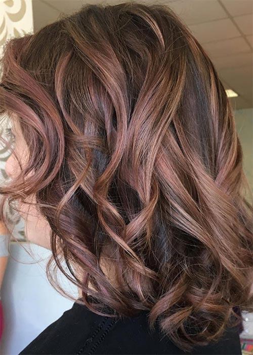 Ιδέες για μωβ σοκολατί αποχρώσεις στα μαλλιά (4)
