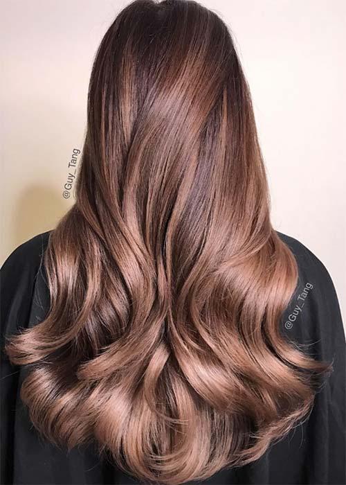 Ιδέες για μωβ σοκολατί αποχρώσεις στα μαλλιά (5)