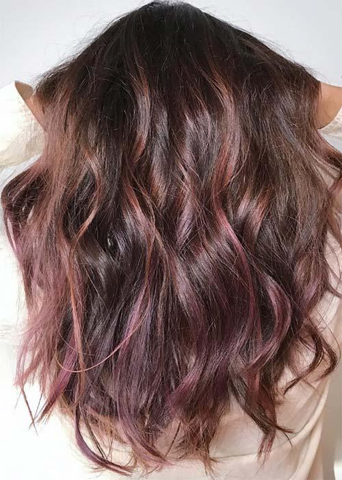 Ιδέες για μωβ σοκολατί αποχρώσεις στα μαλλιά (8)