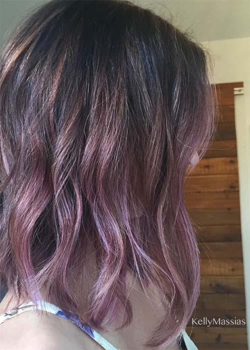 Ιδέες για μωβ σοκολατί αποχρώσεις στα μαλλιά (17)