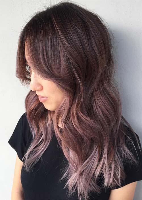 Ιδέες για μωβ σοκολατί αποχρώσεις στα μαλλιά (19)