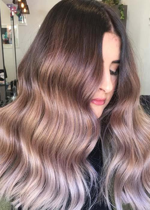 Ιδέες για μωβ σοκολατί αποχρώσεις στα μαλλιά (20)